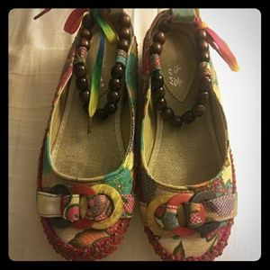 Xiruyi Go to Colorful shoes size 6.5